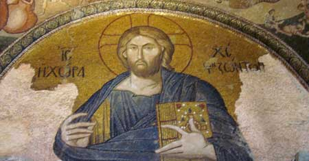 Jesus Pantocrator at the Chora Church, Istanbul
